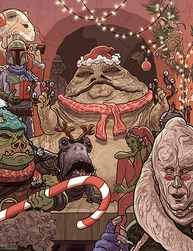 Jabba-the-Hutt-Palace-front-Star-Wars-Christmas-Scene-PJ-McQuade-copy