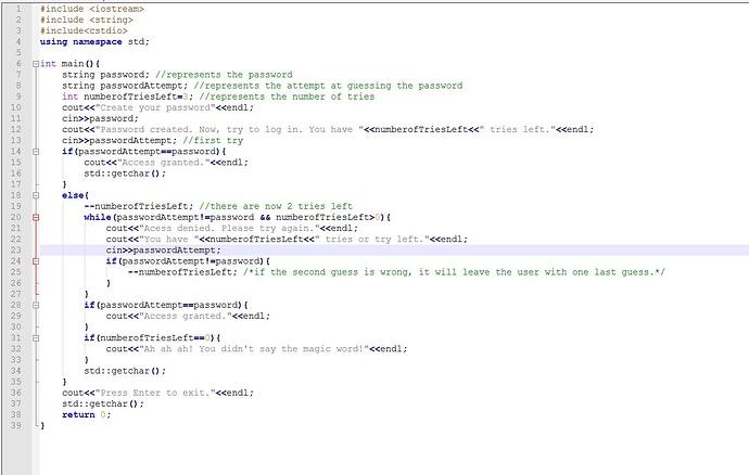 passwordProgram2